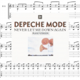 DEPECHE MODE Never let me down again (piano version) (cover mashup by DoM)