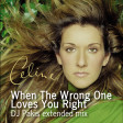 Celine Dion - When The Wrong One Loves You Right - DJ Pakis mix