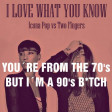 I Love What You Know--Icona Pop vs Two Fingers--DJ Bigg H