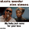 My baby just cares for your love (Stevie wonder vs Nina Simone) - 2010