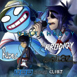 Gorillaz - Clint Eastwood (but it's playing Delta Heavy - End Of Days & The Prodigy - Need Some1)