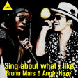Bruno Mars Vs Angel Haze - sing about what i like