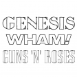 Genesis Vs Wham! and Guns N Roses V2