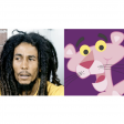 BOB MARLEY- St GERMAIN  Lively up yourself, Pink panther!