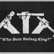 'Who Beat Rodney King?' - by Joel-Steven, from 1992