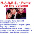 Pump Up the Bright New Lights, Ice Baby Lupa (CVS 'Frontpage' Mashup) - MARRS + V.A.