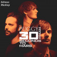 153 - 30 SECONDS TO MARS vs PUGGY - To Win a Modern Myth - Mashup by SEBWAX