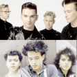 DEPECHE MODE - THE CURE Never let me down in your house