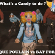 Dominique Poulain vs Bat For Lashes - What's a Candy Candy to do ?
