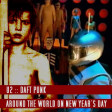 Around The World On New Years Day (U2 vs Daft Punk)
