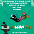 Daft Punk vs Chemical Brothers & 5 Artists - Galvanise da Lean Funk (DJ Firth Mashup)