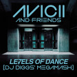 Avicii and Friends - Levels of Dance (DJ Diggs Audacious Megamash)