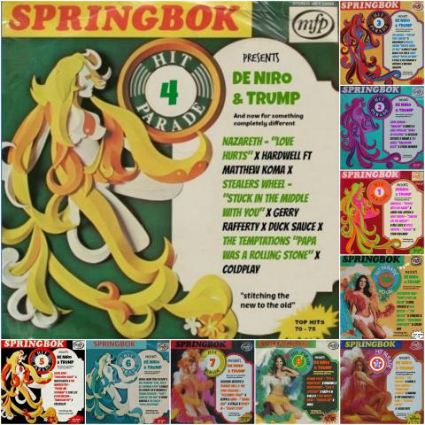 DE NIRO & TRUMP 34 - And now for something completely different #SPRINGBOK Hit Parade 04
