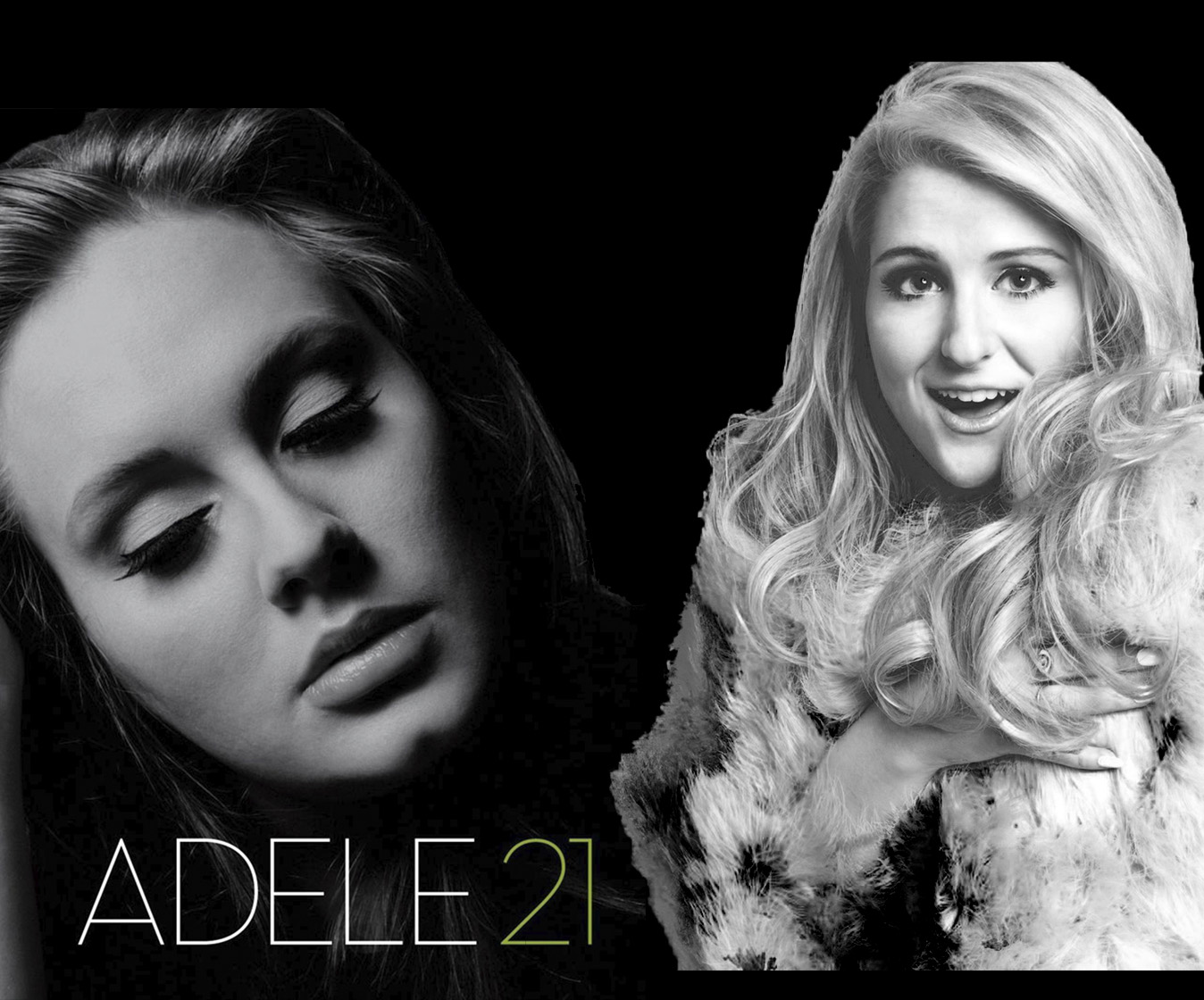 Adele vs Meghan Trainor - All about the deep - HalfHeartedly Mashup