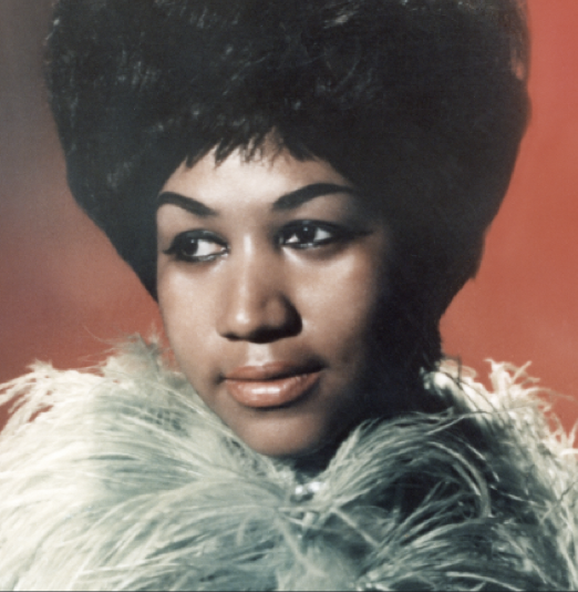 ARETHA FRANKLIN  A lot of respect