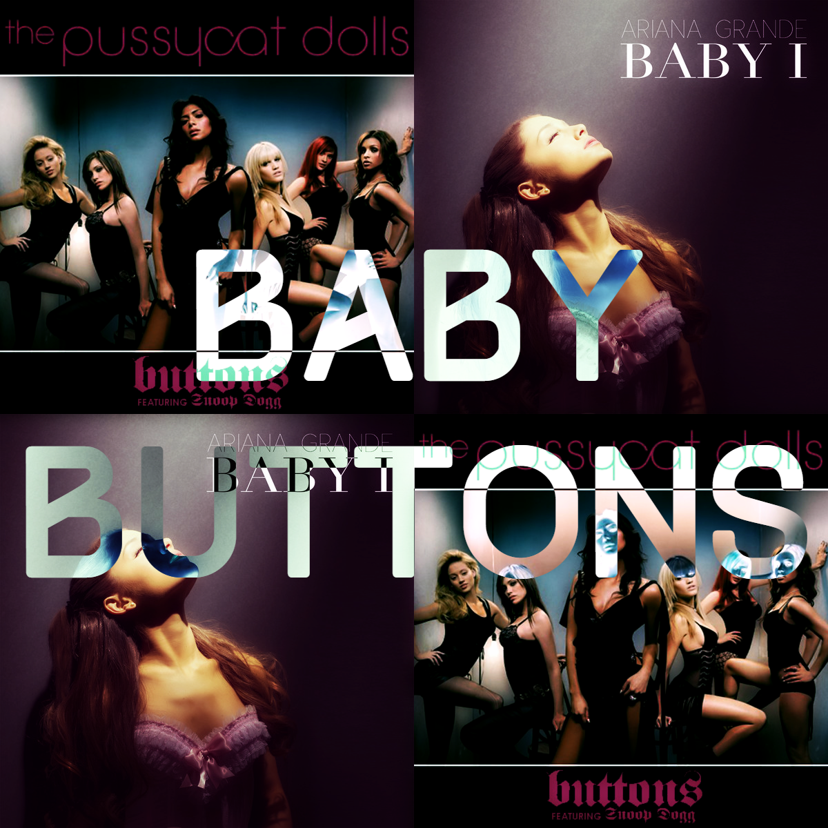Pussycat Dolls ft. Snoop Dogg vs. Ariana Grande - Baby Buttons (SimGiant Mash Up)