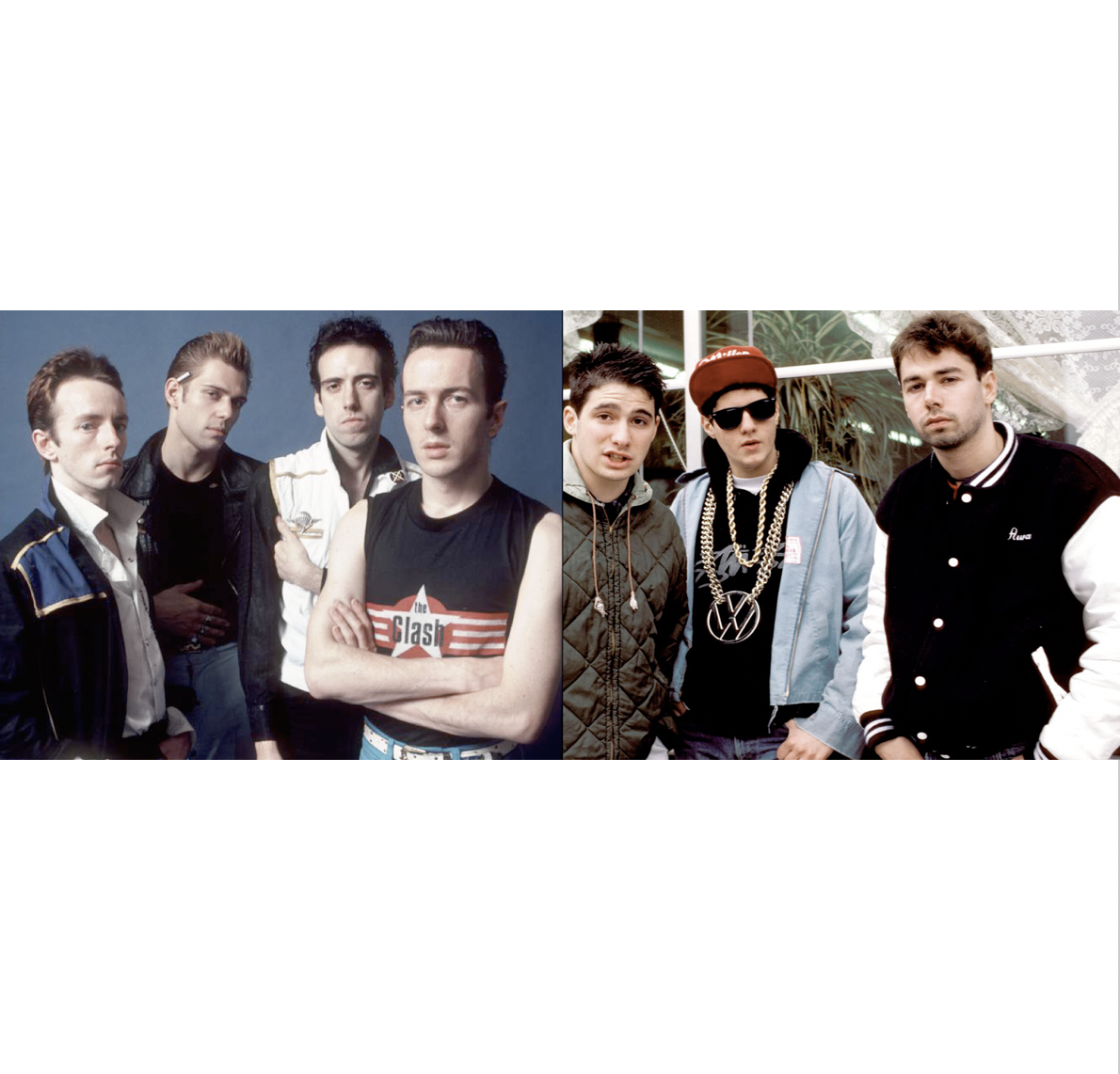 THE CLASH - BEASTIE BOYS  The magnificent galaxy