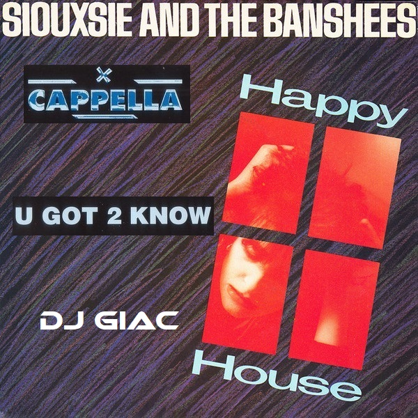 Siouxsie and The Banshees vs Cappella - U Got 2 Know The Happy House (2020)