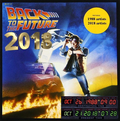 Back To The Future 2018 (1988 vs. 2018)