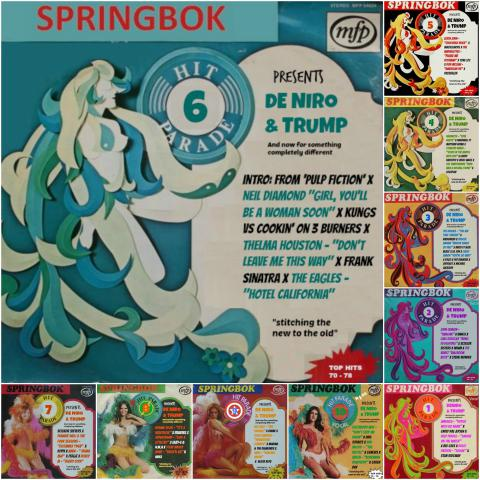 DE NIRO & TRUMP 36 - And now for something completely different #SPRINGBOK Hit Parade 06