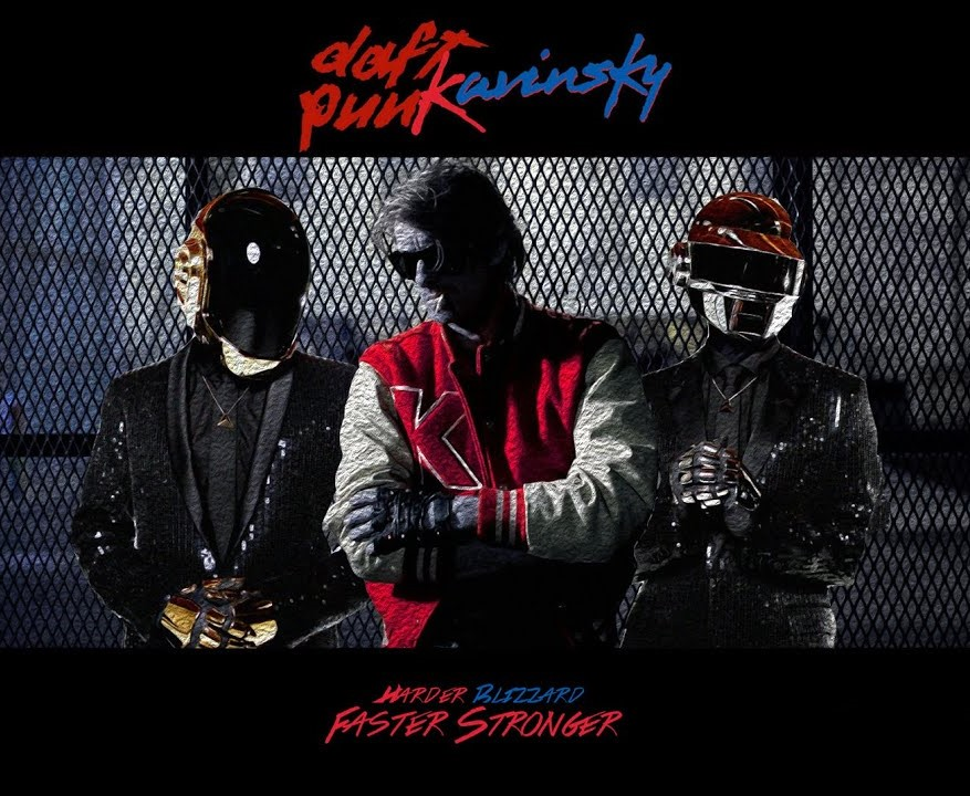 Kavinsky vs. Daft Punk - Harder Blizzard Faster Stronger (YITT mashup)