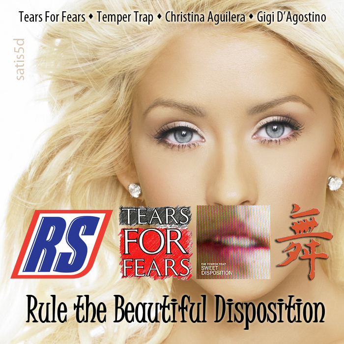 Tears For Fears/ Christina Aguilera/ Temper Trap/ Gigi D'Agostino - Rule the Beautiful Disposition