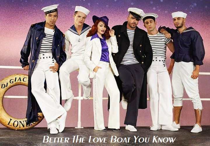 Kylie Minogue vs Jack Jones - Better The Love Boat You Know (2021)