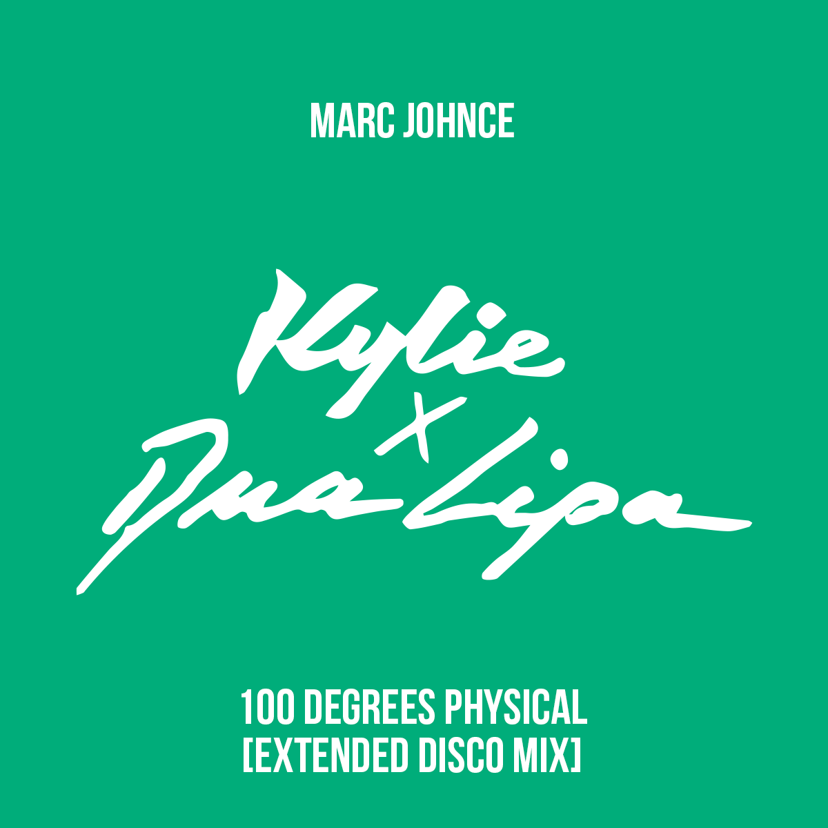 Marc Johnce - 100 Degrees Physical (Extended Disco Mix)