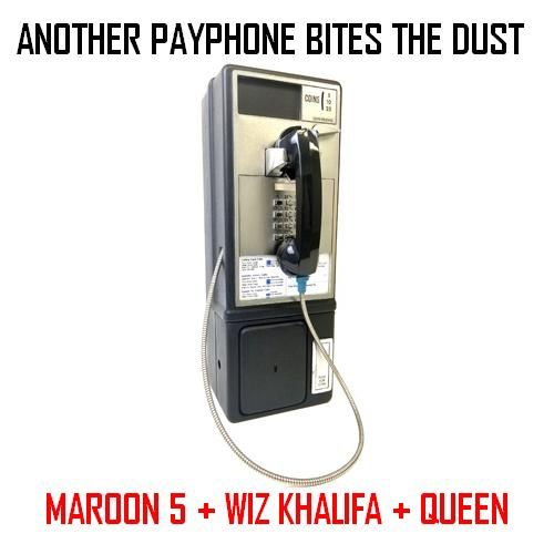 Another Payphone Bites the Dust (CVS 'Frontpage' Mashup) - Maroon 5, Wiz Khalifa, Queen