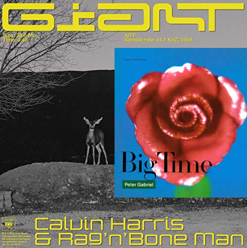 Calvin Harris ft Rag n Bone Man vs Peter Gabriel - Big giant time (BaBa Gigantempo Mashup)