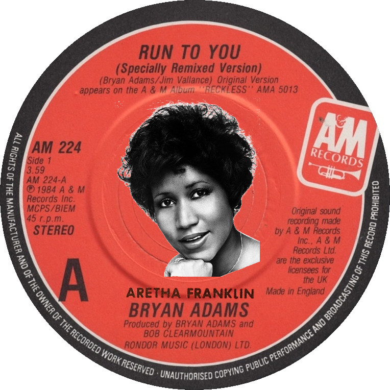 Run To Pride (Aretha Franklin vs. Bryan Adams)