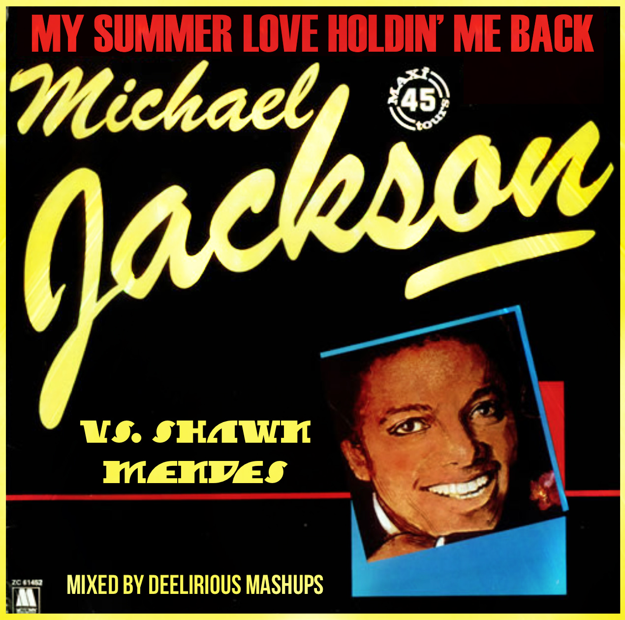 Michael Jackson Vs. Shawn Mendes - My Summer Love Holdin' Me Back
