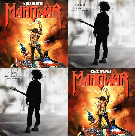 Boys don't come - Mistah Pok mash (The Cure vs. Manowar)