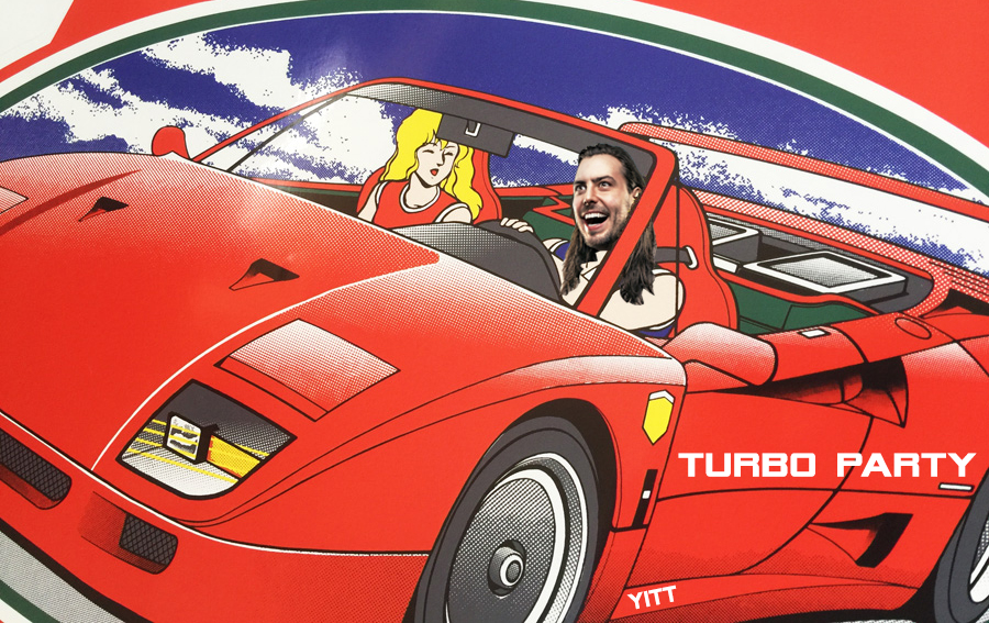Outrun vs. Andrew WK - Turbo Party (YITT mashup)