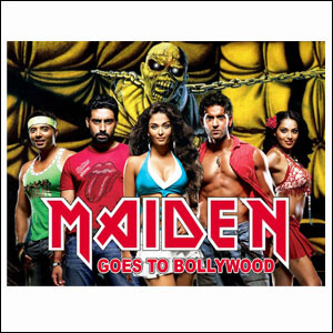 Maiden Goes to Bollywood (Iron Maiden & Sunidhi Chauhan)