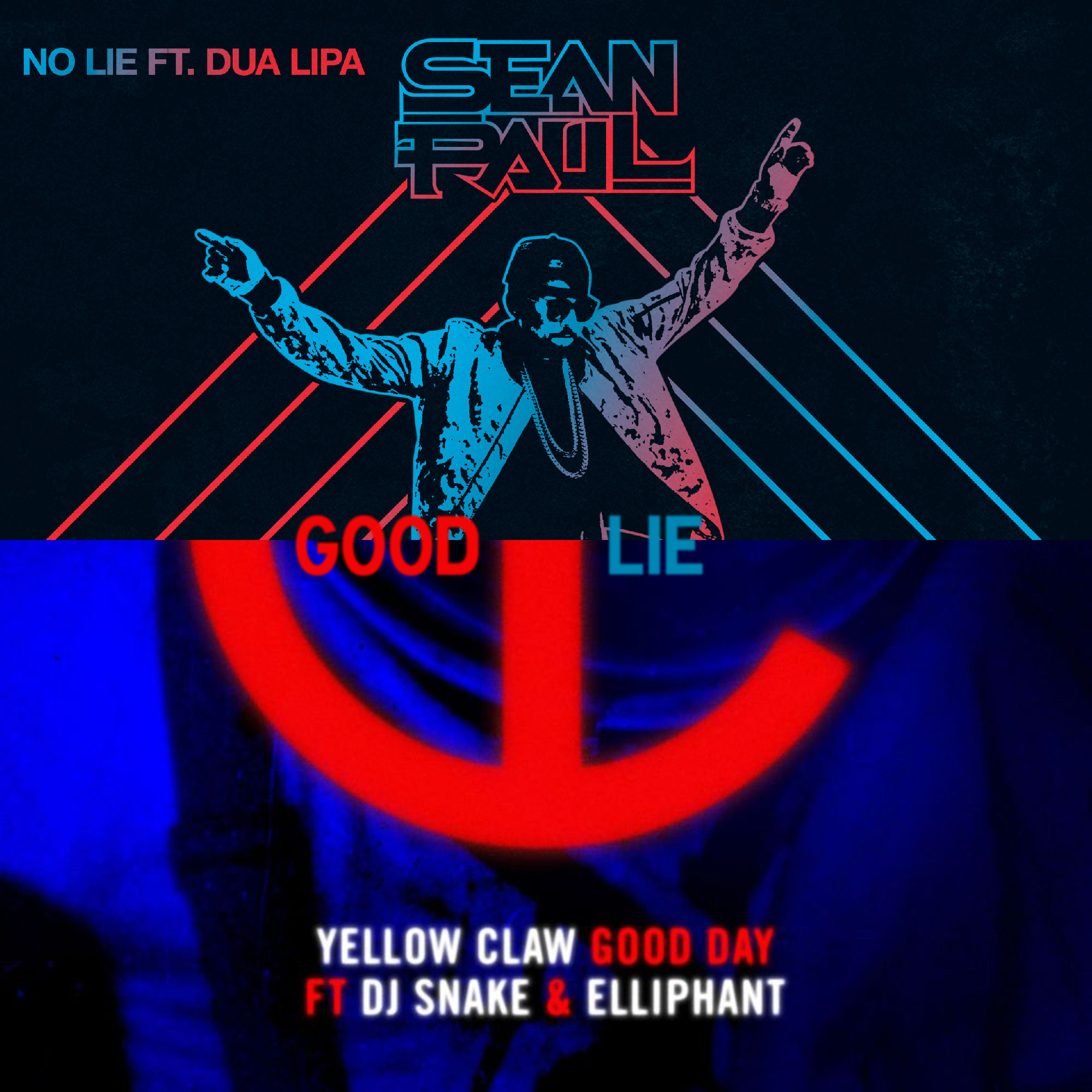 Yellow Claw & DJ Snake vs Sean Paul & Dua Lipa  - Good Lie