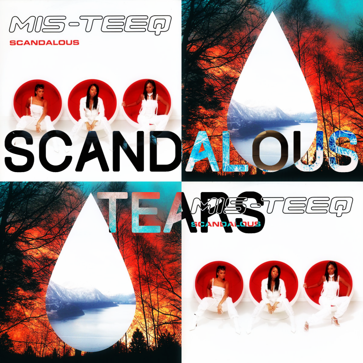 Mis-Teeq vs. Clean Bandit & 99 Souls - Scandalous Tears (SimGiant Mash Up)