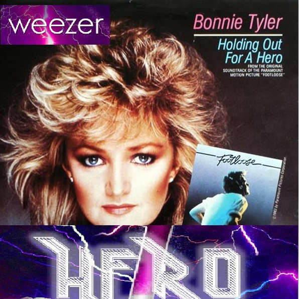 Weezer vs Bonnie Tyler - Holding out for heroes (Bastard Batucada Heroeses Mashup)