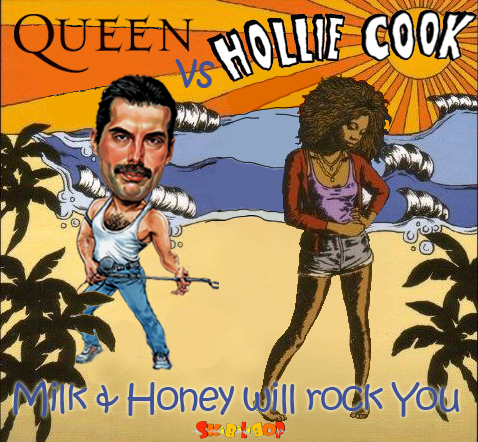 Milk & Honey will rock You (Queen vs Hollie Cook)