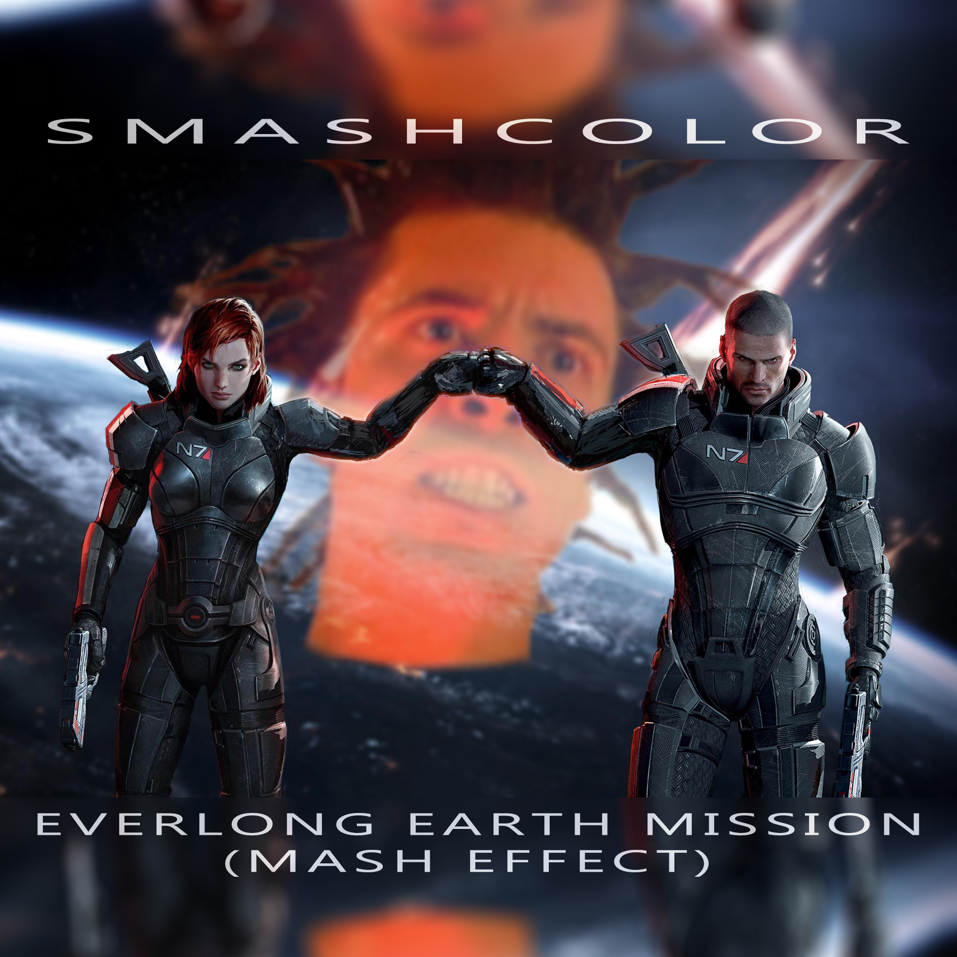 Everlong Earth Mission (Mash Effect)  [Mass Effect 2 & 3 OSTs x Foo Fighters]