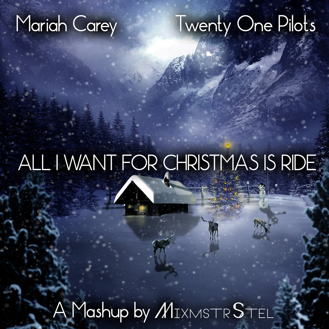 Mariah Carey vs. Twenty One Pilots - All I Want For Christmas Is Ride [Rough Edit with Intro]