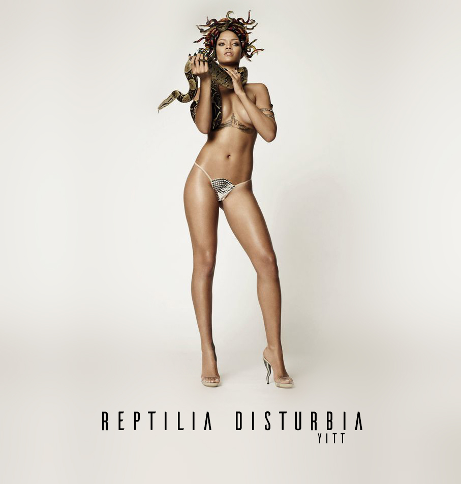 The Strokes vs. Rihanna - Reptilia Disturbia (YITT mashup)