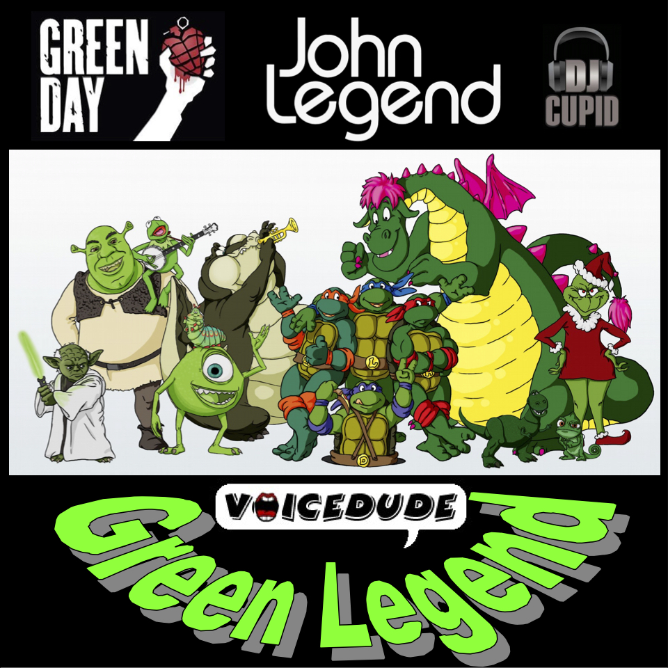 'Green Legend' - Green Day Vs. John Legend + Cupid  [produced by Voicedude]