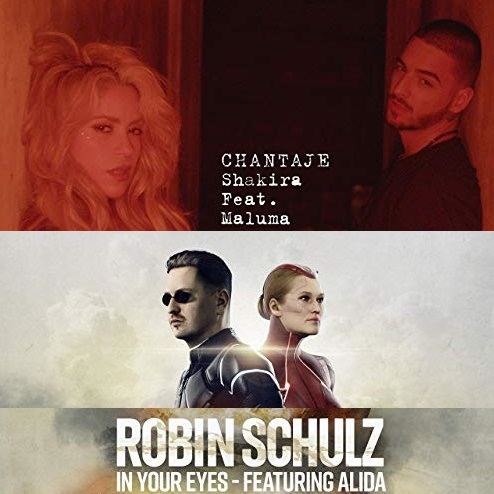 Robin Schulz ft Alida vs Shakira - In your chantaje eyes (Bastard Batucada Ciumolhos Mashup)