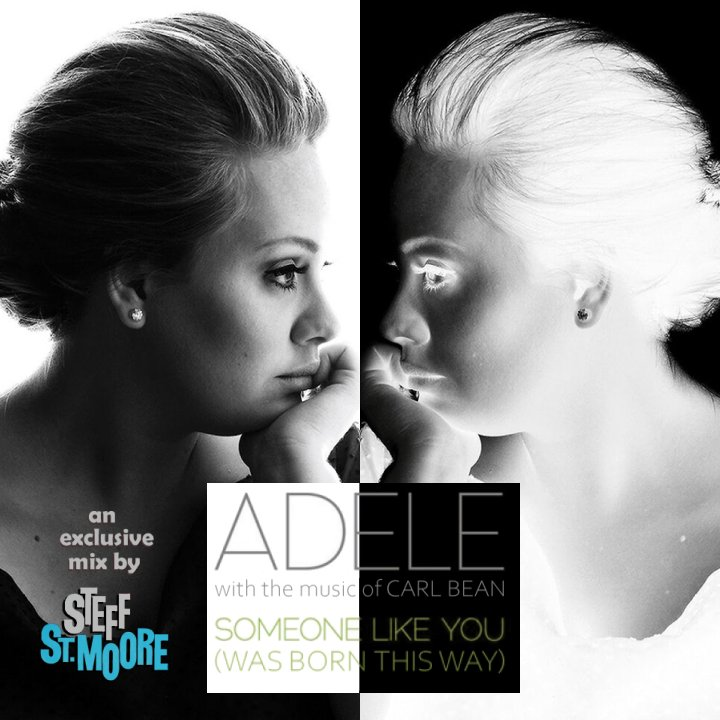 MASHUP #237 - ADELE / CARL BEAN - Someone Like You (Was Born This Way)