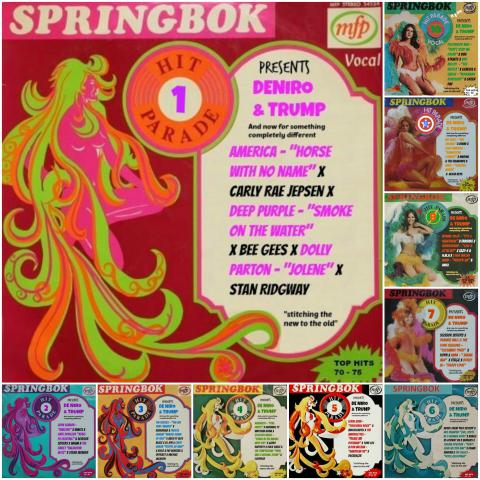 DE NIRO & TRUMP 31 - And now for something completely different #SPRINGBOK Hit Parade 01