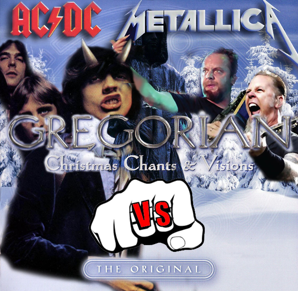 Metallica - For Whom The Bell Tolls (but it's playing ACDC - Hells Bells in gregorian choir style)