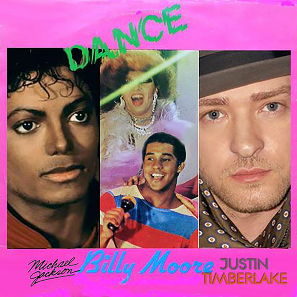 Michael Jackson - Black or White (but it's playing Billy Moore - Go Dance )