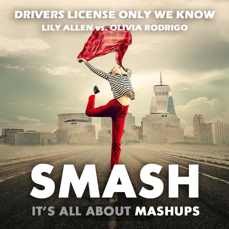 Drivers License Only We Know (Lily Allen vs. Olivia Rodrigo)