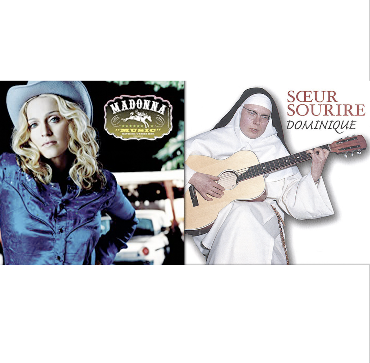 MADONNA - SŒUR SOURIRE (THE SINGING NUN)   Domusic (mashup by DoM)